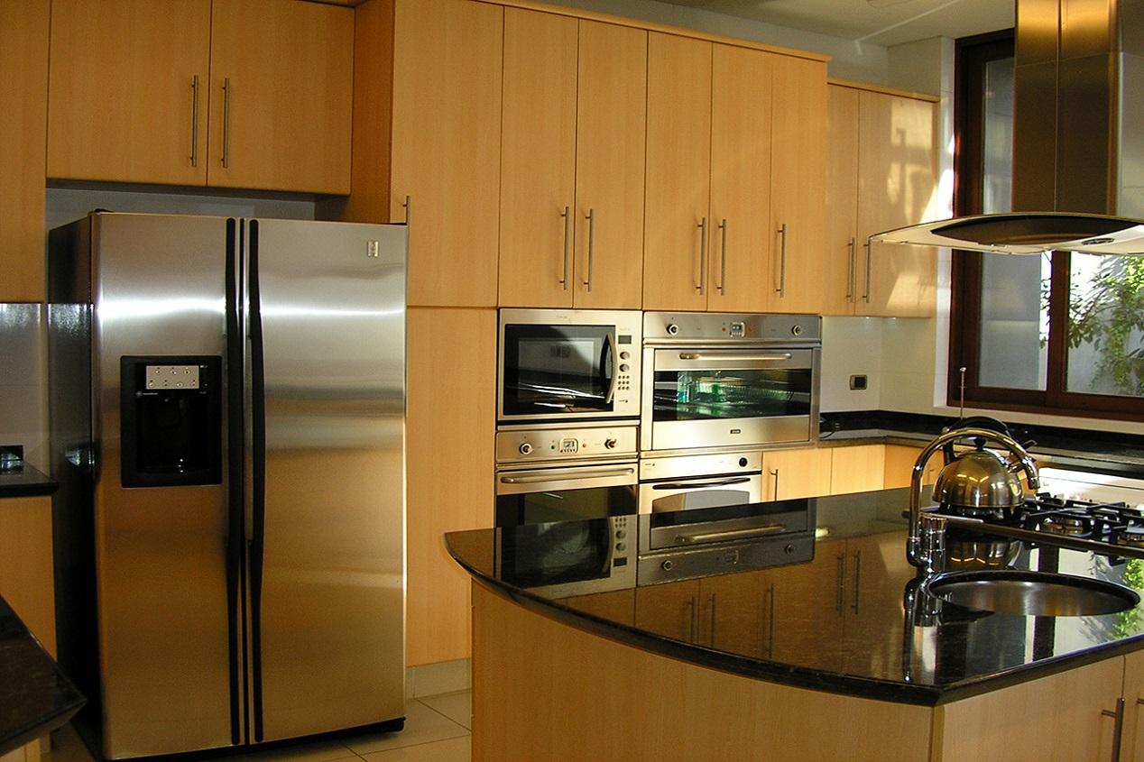 Muebles de cocina cubierta granito puertas postformado - Puertas para cocina ...